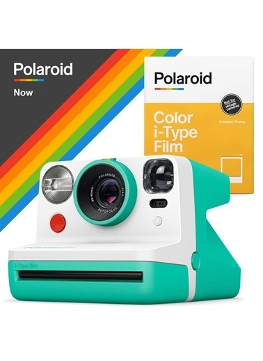 Polaroid Polaroid Now Mint Instant Fotoğraf Makinesi ve 8'li Film Hediye Seti Mint